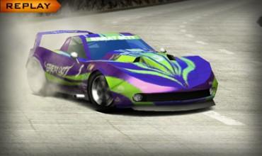 New Ridge Racer 3D screenshots race in
