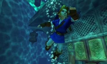 The Legend of Zelda: Ocarina of Time 3D screenshot blowout