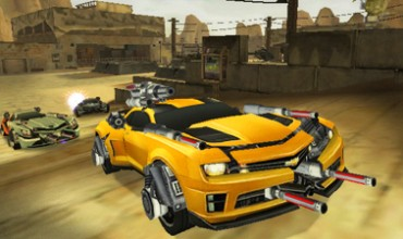 First Nintendo 3DS screenshots for Transformers: Dark of the Moon
