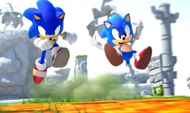 Sonic Generations Special Stage screens for Nintendo 3DS speed in