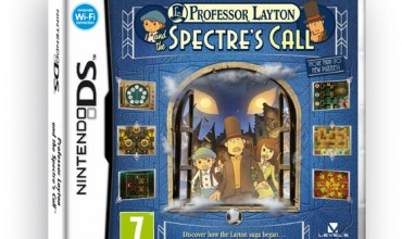 Professor Layton and the Spectre's Call box art unveiled