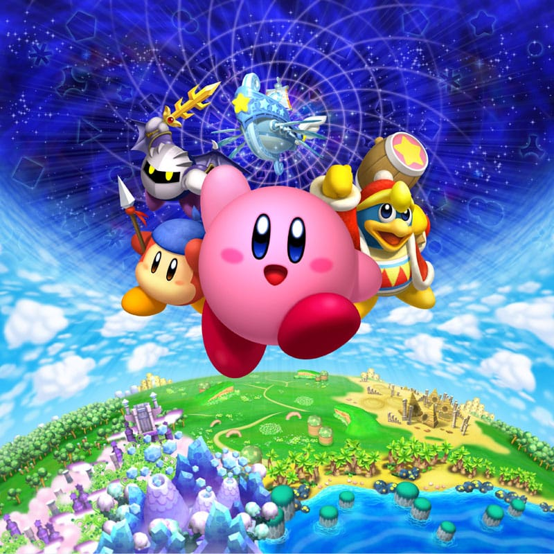 Kirby?s Adventure Wii receives stunning artwork