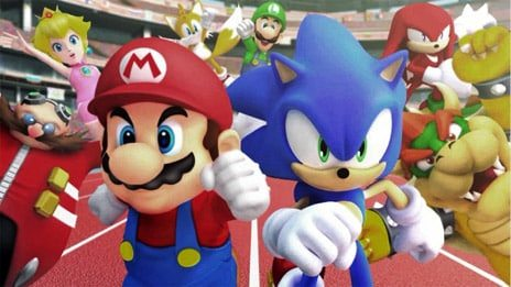 Mario and Sonic Olympic Games Characters