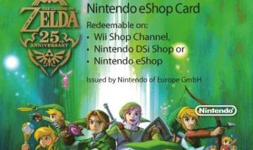 Nintendo unveil The Legend of Zelda 25th Anniversary Prepaid Card artwork