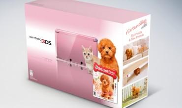 Pearl Pink Nintendo 3DS bundle set for December release