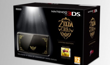 The Legend of Zelda 25th Anniversary Limited Edition Nintendo 3DS bundle to be released