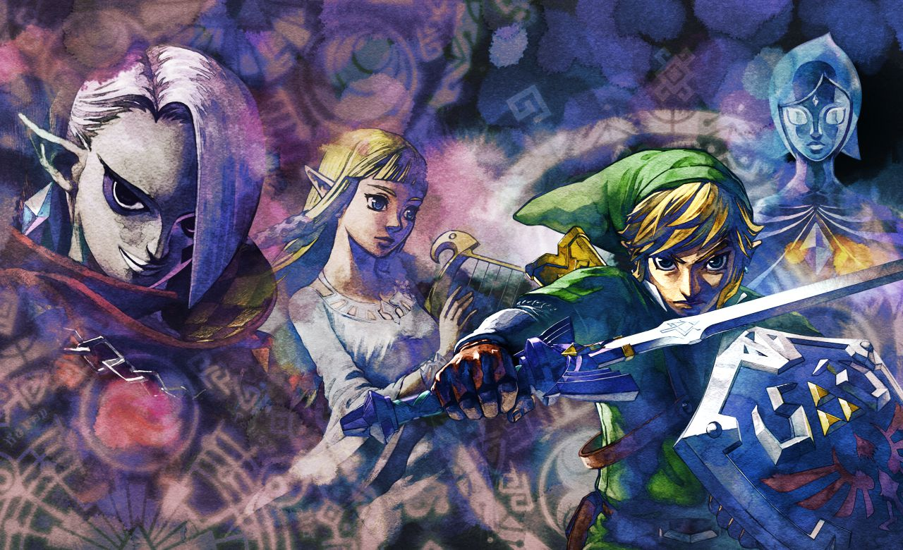 The Legend of Zelda: Skyward Sword Review Header