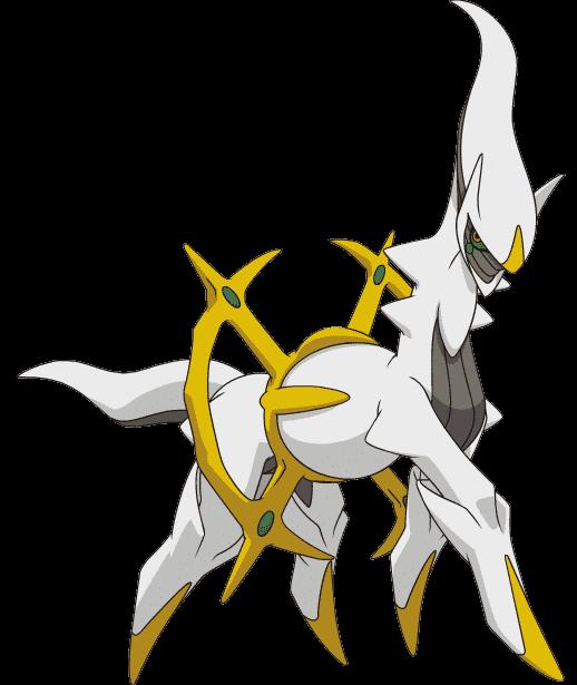 mythical pokémon arceus to be available from pokémon dream world