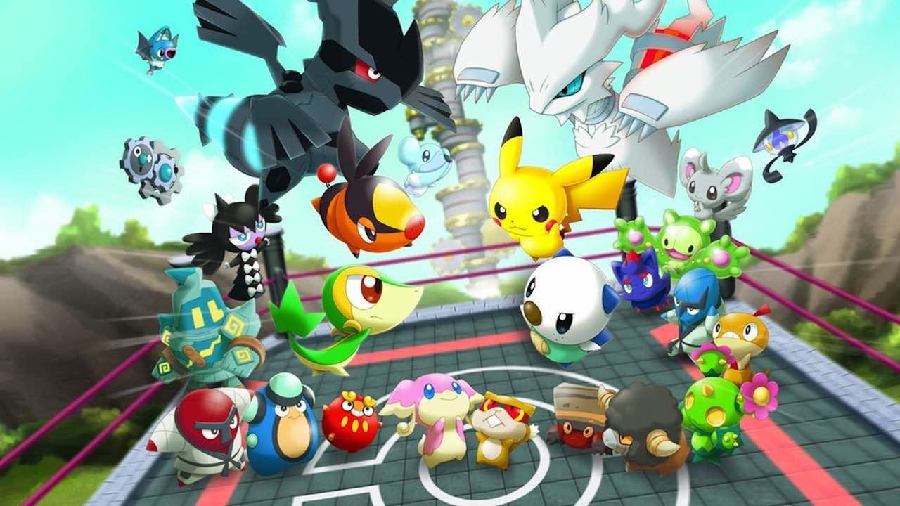 Super Pokémon Rumble Review Header