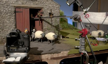 Shaun the Sheep 3D images showcase film process