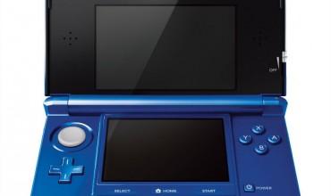 Cobalt Blue Nintendo 3DS announced
