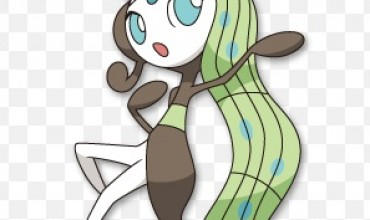 Meloetta revealed for Pokémon Black and White sequels