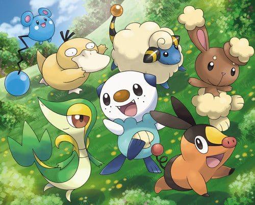 Starter Pokémon revealed for Pokémon Black/White Version 2 ...