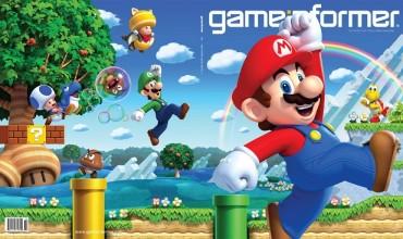 New Super Mario Bros. U adorns latest Game Informer cover