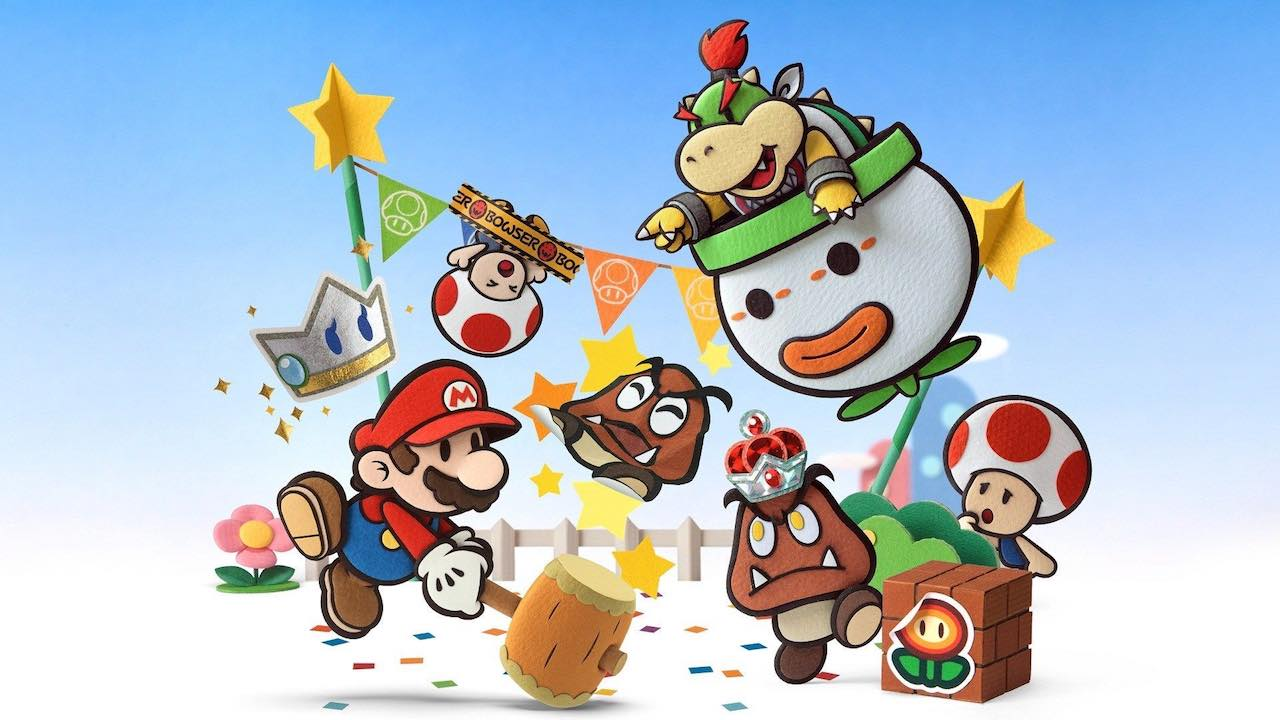 Paper Mario: Sticker Star Review Header