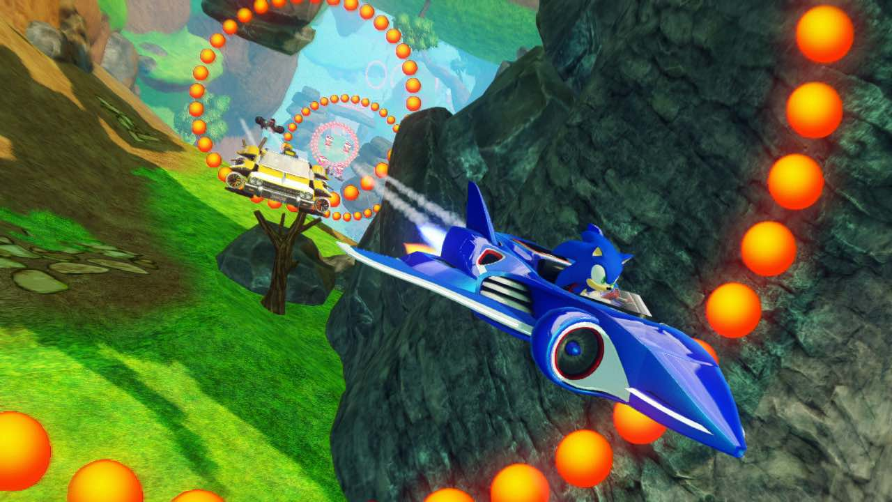 Sonic And All-Stars Racing Transformed Review Header