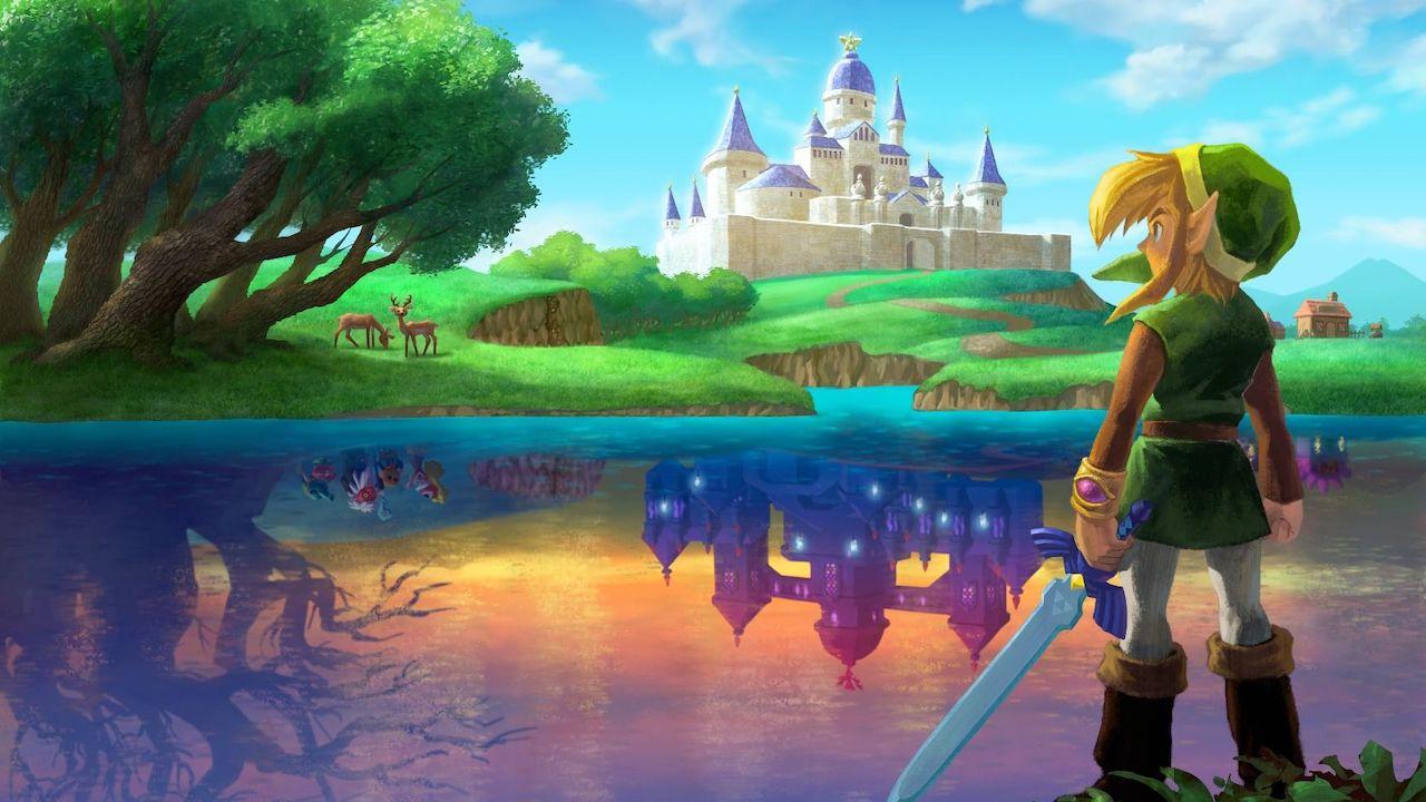 The Legend Of Zelda: A Link Between Worlds Review Header