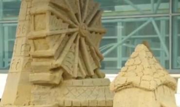 Here's how Nintendo recreated Windfall Island as a sandcastle!