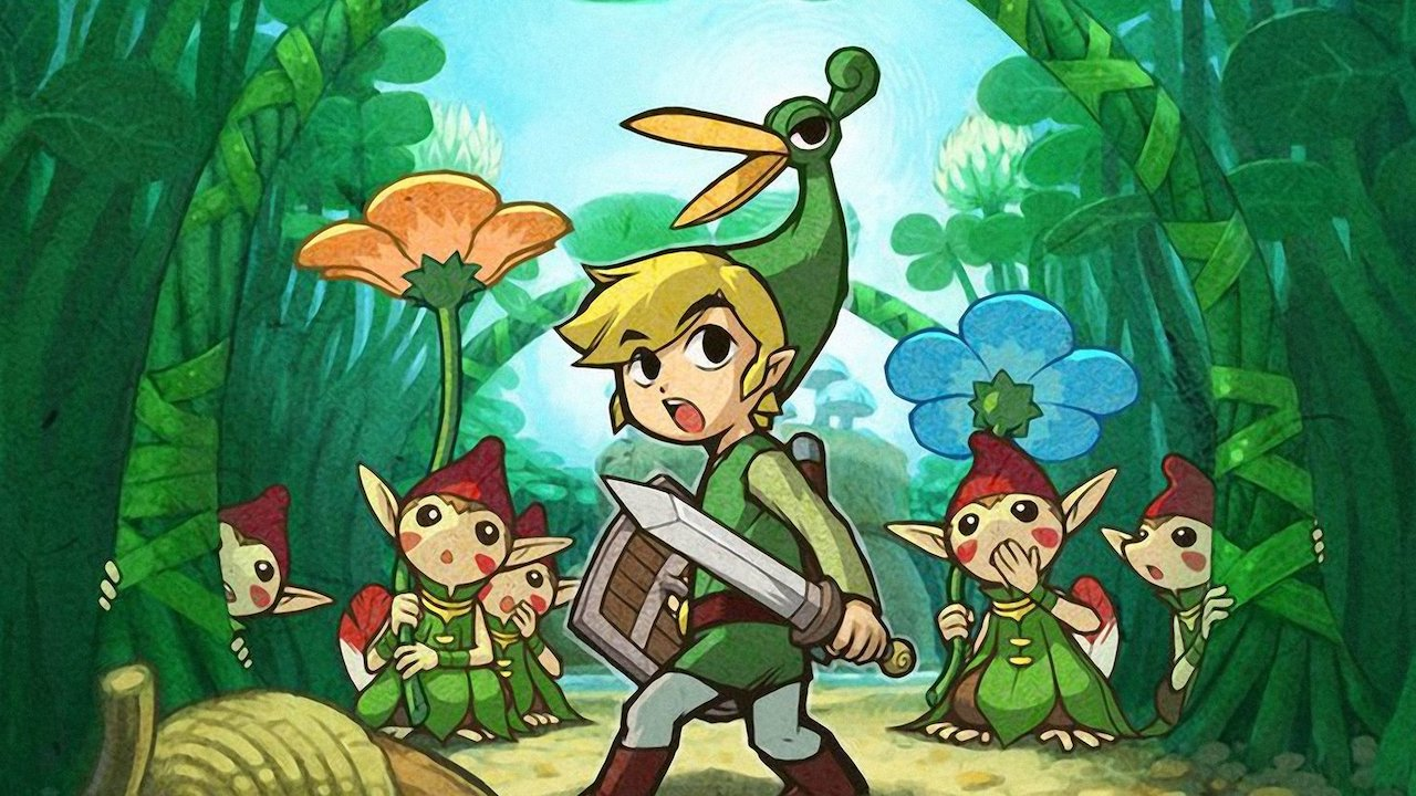 The Legend Of Zelda: The Minish Cap Review Header