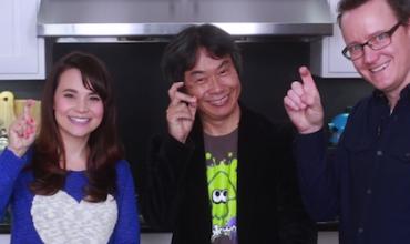Shigeru Miyamoto joins Rosanna Pansino's Nerdy Nummies to talk Wii U