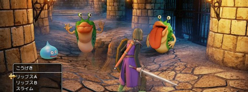 First Dragon Quest 11 screenshots released by Square Enix
