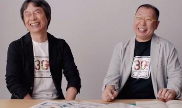 Miyamoto and Tezuka look back at Super Mario Bros. development