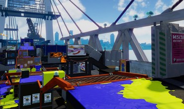 Splatoon adds Hammerhead Bridge to stage rotation