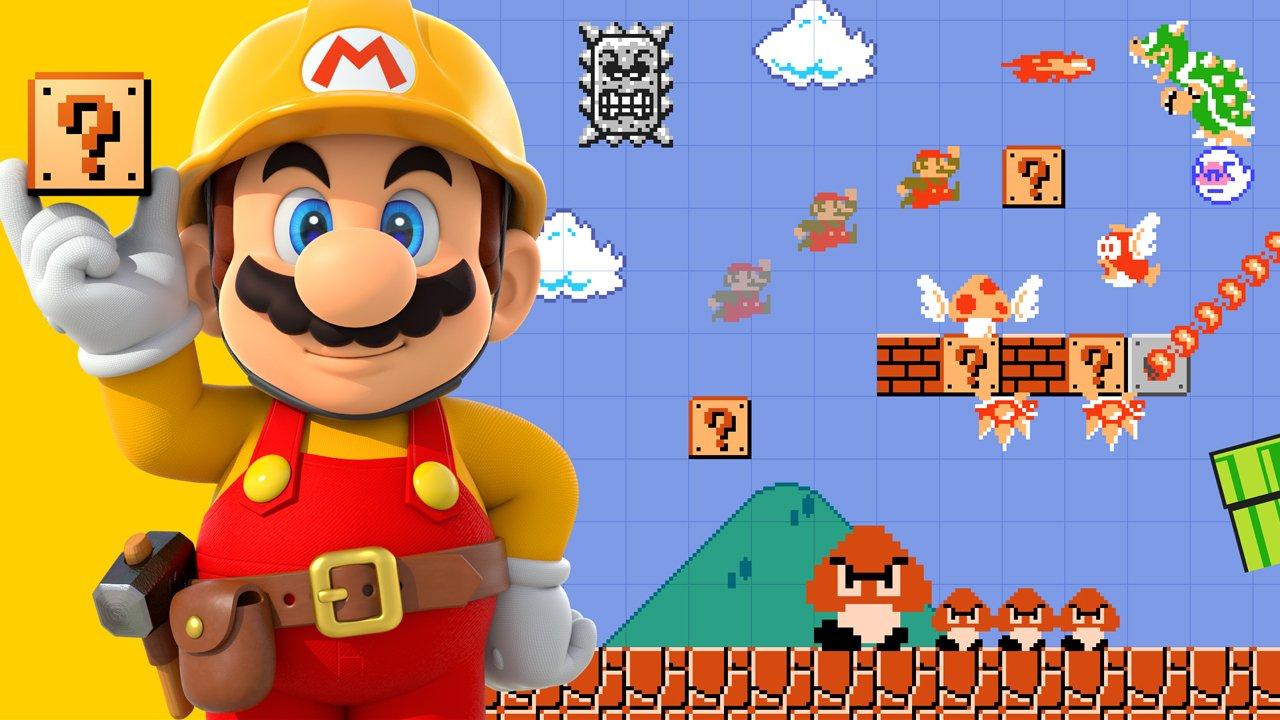 Super Mario Maker Review Header