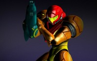 Metroid's Samus Aran Powers Up In My Nintendo 3DS Theme