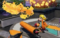 Splatoon adds new Carbon Roller Deco weapon