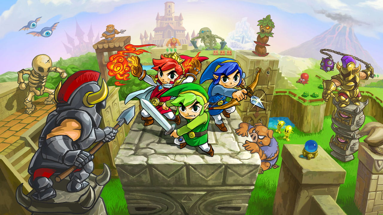 The Legend Of Zelda: Tri Force Heroes Review Header