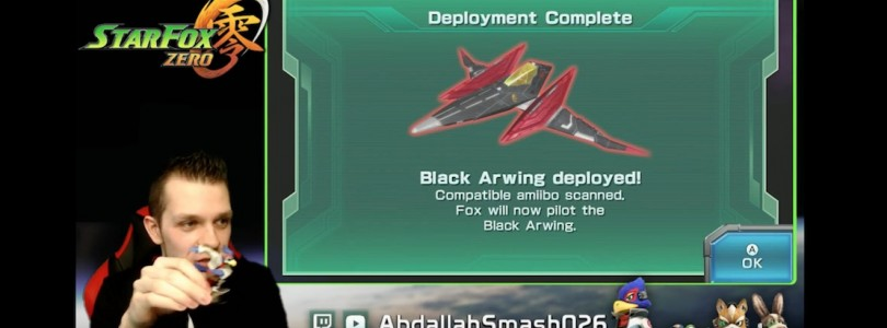Falco amiibo Unlocks Black Arwing In Star Fox Zero