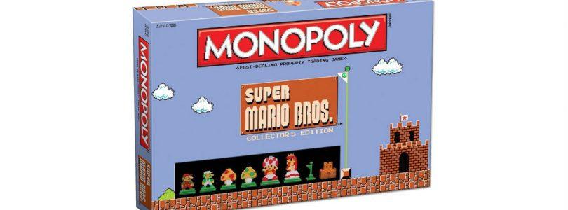 Monopoly: Super Mario Bros. Collector's Edition Now Available