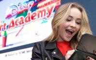 Disney Channel's Sabrina Carpenter Promotes Disney Art Academy At Nintendo NY