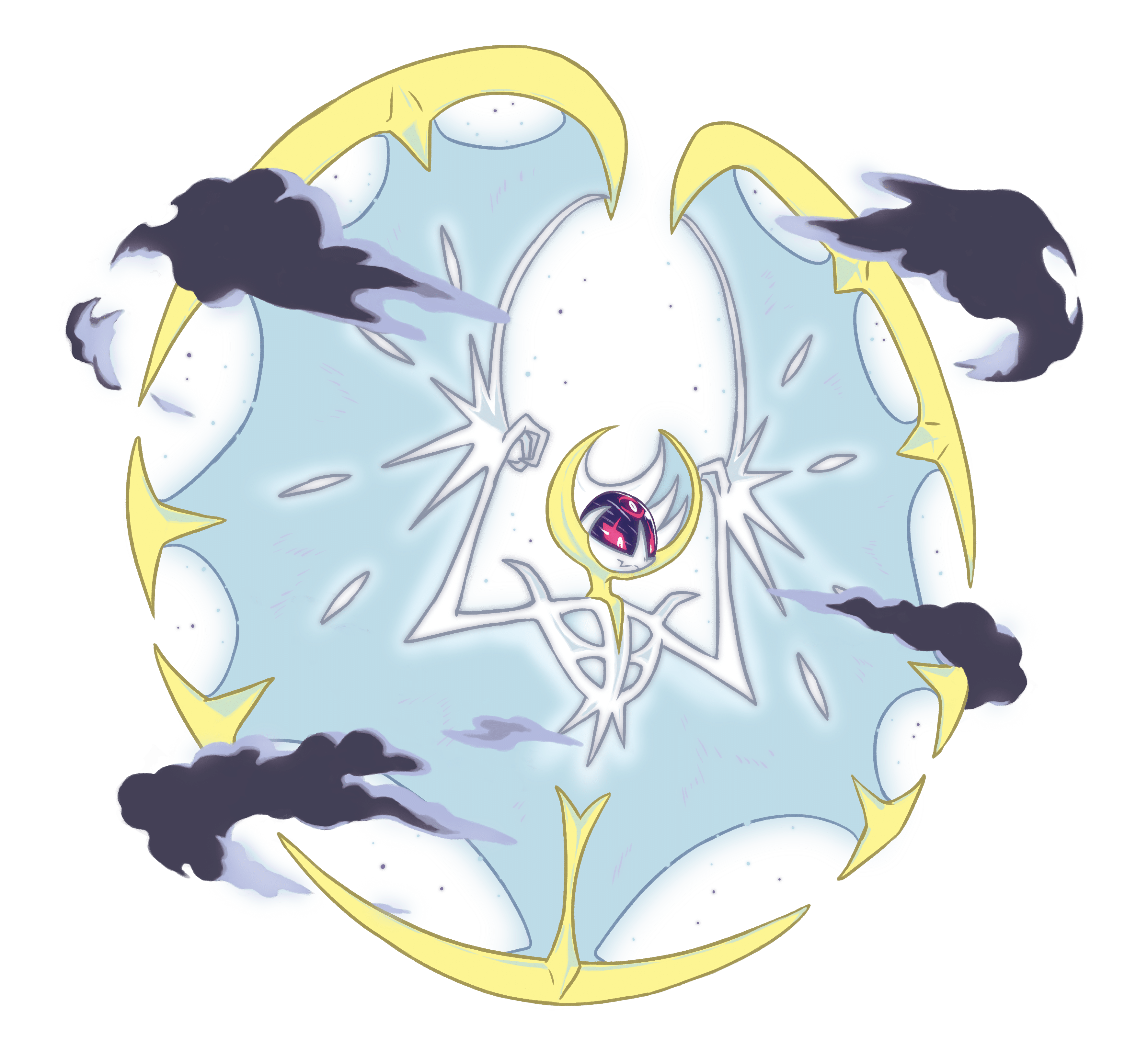 Solgaleo And Lunala Unleash Radiant Sun And Full Moon Phases ...