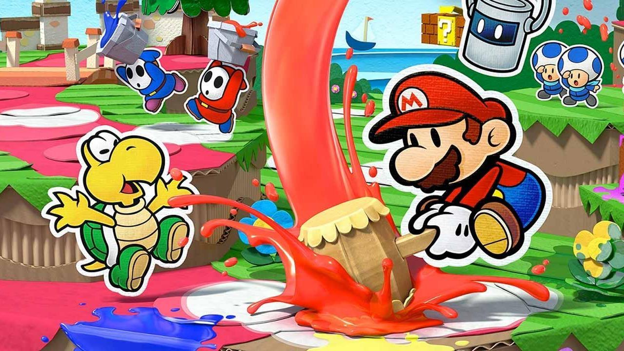 Paper Mario: Color Splash Review Banner