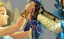 Game Informer Zelda Breath of the Wild Cover