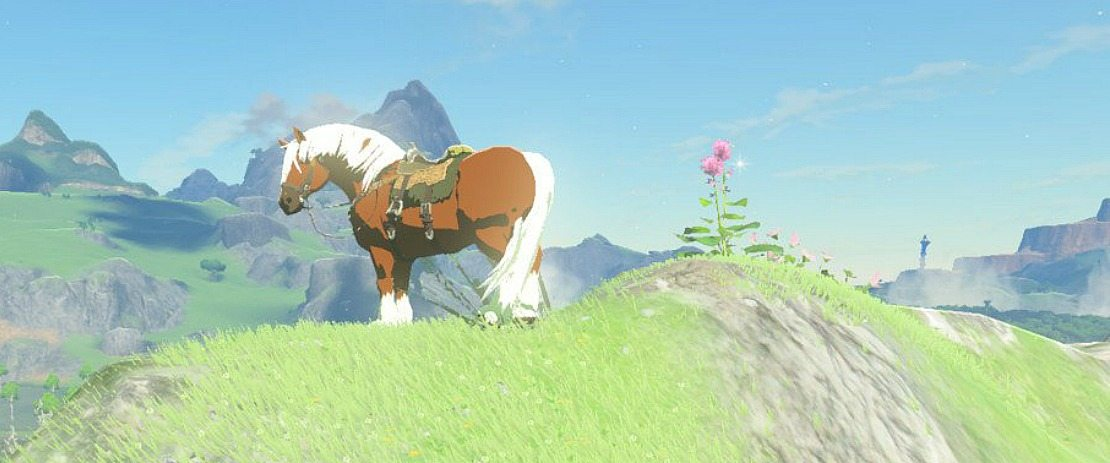 Zelda Breath Of The Wild Epona