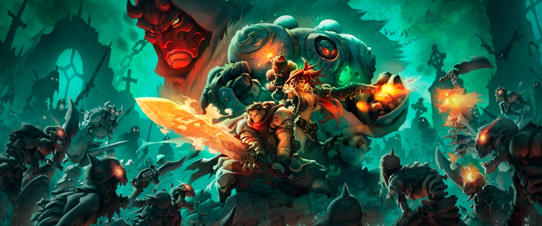 Battle Chasers: Nightwar Art