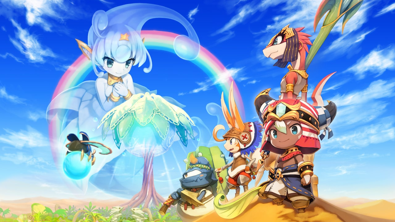 Ever Oasis Review Header