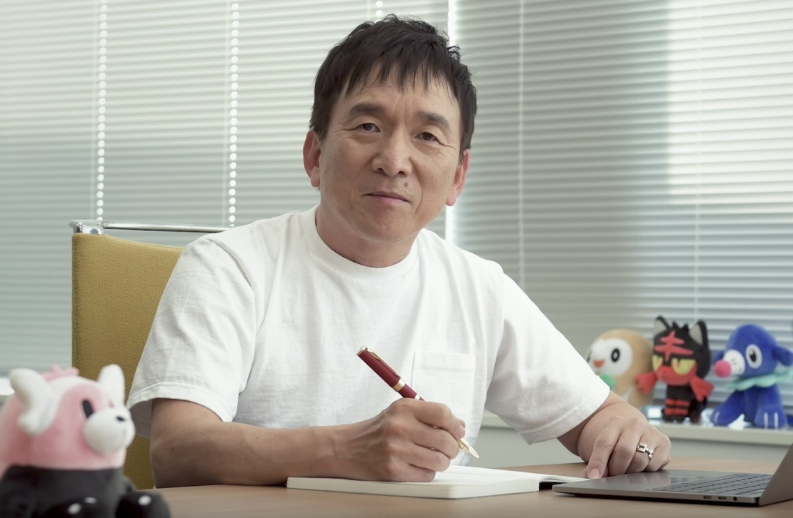 The Pokémon Company Tsunekazu Ishihara Photo