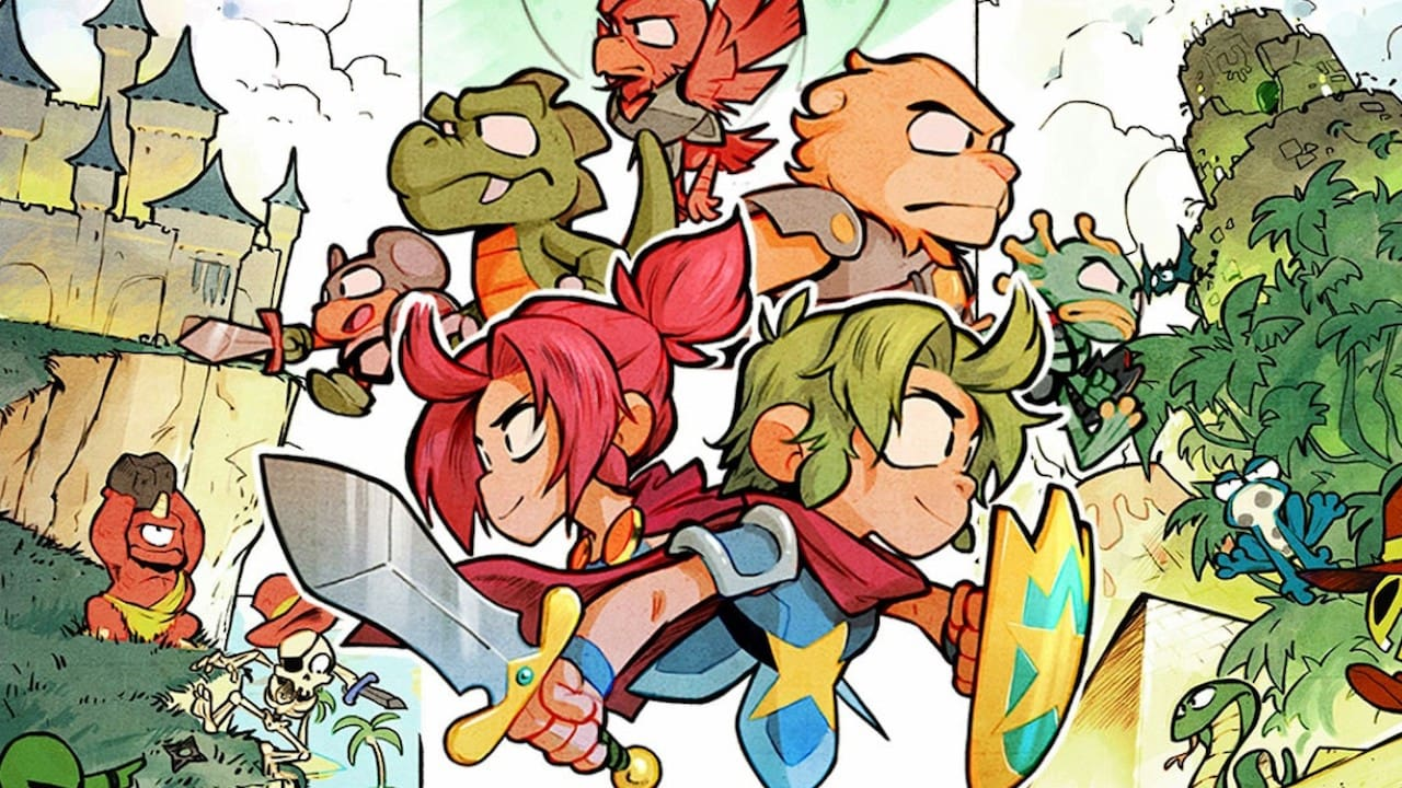 Wonder Boy: The Dragon's Trap Review Header