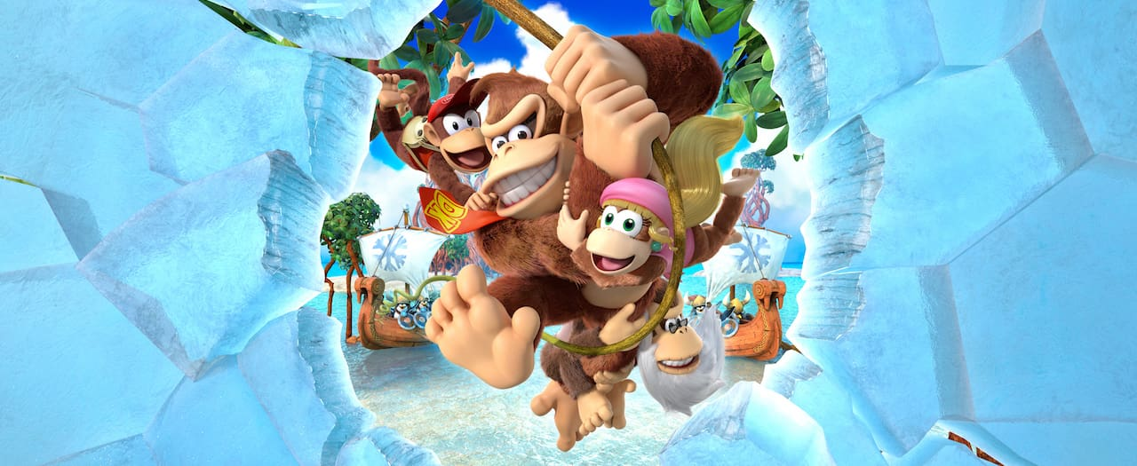 Donkey Kong Country: Tropical Freeze Review Banner