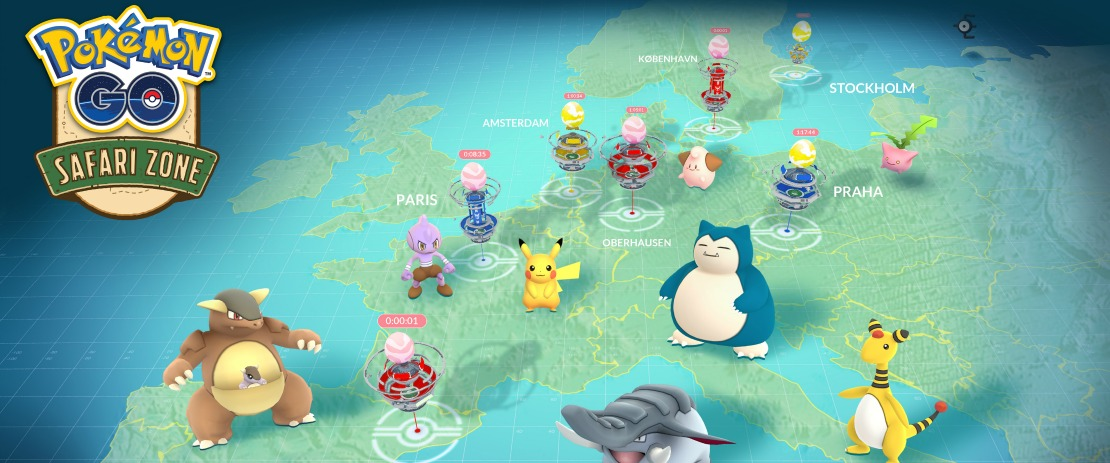 Pokemon GO Safari Zone Event Image