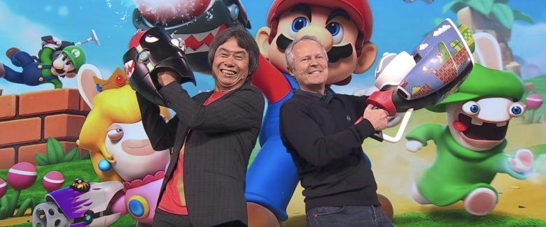 Shigeru Miyamoto Ubisoft E3 2017 Photo