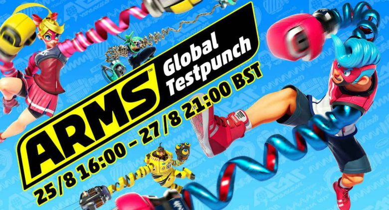 New ARMS character Lola Pop, stage, and Test Punch swing in