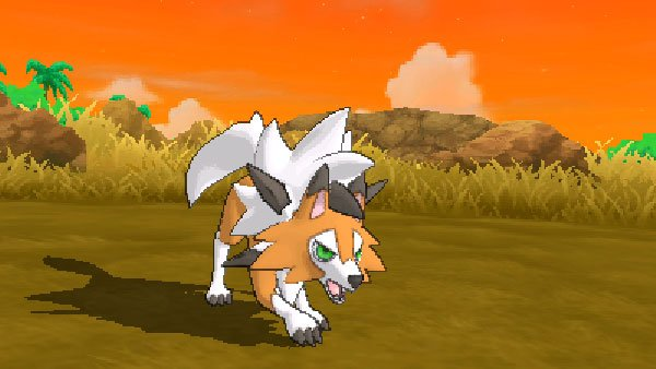 Pokemon Ultra Sun and Ultra Moon adds Dusk Form Lycanroc