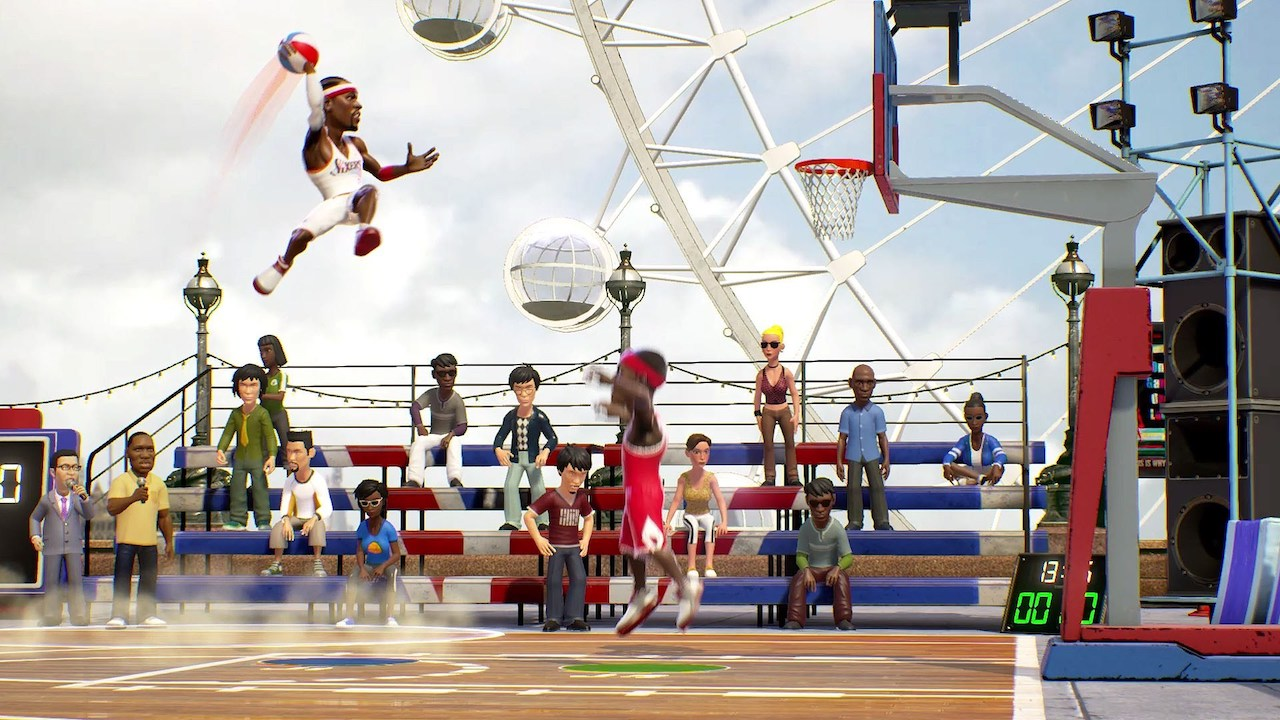 NBA Playgrounds Review Header