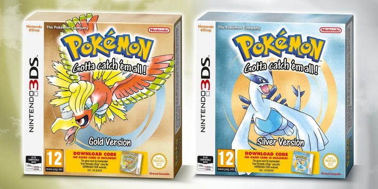 Pokemon Gold and Silver Receiving Boxed Re-Release for 3DS