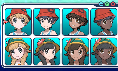 New Pok 233 Mon Ultra Sun And Ultra Moon Screenshots Show Trainer Customisation Options Nintendo